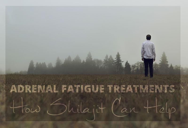 Adrenal Fatigue Treatments - How Shilajit Can Help