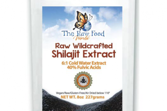 Raw Wildcrafted Shilajit Extract – Raw Food World